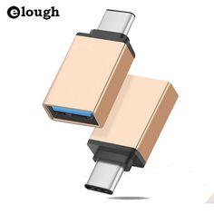 Elough usb typ c usb 3.1 otg für xiaomi mi4c macbook nexus 5X6 p USB Typ C OTG Adapter Daten Snyc Lade Kabel Typ C USB-C