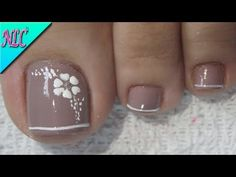 Pretty Toe Nails, Pretty Toes, Cute Nails, Pedicure Designs, Toe Nail Designs, French Tip Toes, Coffin Nails, Acrylic Nails, Chrome Nails Designs