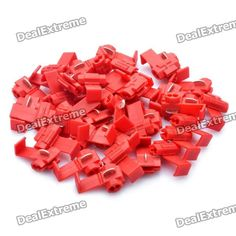 High quality male dc power jack adapter 55mm x 21mm connector plug color red material plastic hole size 34mm 32mm greentooth Choice Image