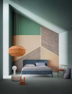 quarto, home decor, decoração da casa, apartamento, inovador, colorido.