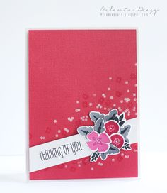 Fresh Cut Floral, More Fresh Cut, Silver Bell stamp set, More Fresh Cut Dies, WPlus9. melania deasy: