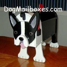 Boston Terrier mailbox $145.00 :(