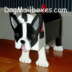 Boston Terrier mailbox $145.00 :(