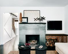 Eclectic Custom Fireplace Design, Pictures, Remodel, Decor and Ideas - page 18