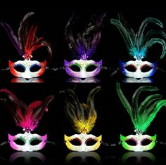 Cheap mask, Buy Quality masquerade masks gold directly from China mask face Suppliers: FeatureMasquerade Rhinestone Feather Eye Face Mask Masked Ball Fancy Dress Mardis Gras Mask FREESHIPPINGMaterial:plastic