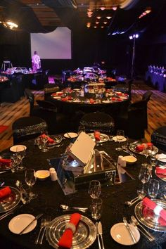 Spy Themed Gala Events