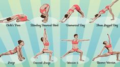 12 Morning Stretches to Help You Get Rid of Pain, Stiffness and Excess Fathttps:… - All For Health Deep Squat, Piriformis Syndrome, Morning Stretches, Psoas Muscle, Tight Hips, Downward Dog, Improve Blood Circulation, Kid Poses