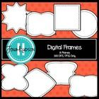 This set features 8 FREE digital frames.  All frames are in PNG format and include a white fill-in.   Perfect for any project!  8 digital frames 30...