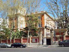 palacio de D.  José Lázaro Galdiano . Actual Museo Lázaro Galdiano
