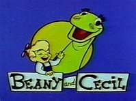 Beany and Cecil (the sea sick sea serpent)