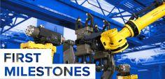 First Milestones w/ @FANUCAmerica | #welding #robotics #mfg #automation http://weldingproductivity.com/article/first-milestones/