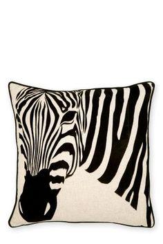 Zebra mintás díszpárnahuzat