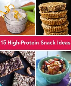 15 Quick and Easy High Protein Snacks