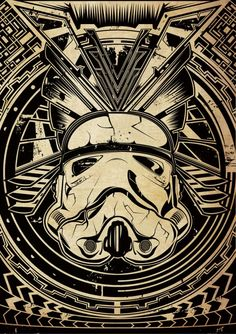 Gareth Pugh – Stormtrooper http://www.plaingraffic.com/ #fanart