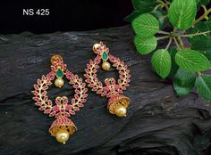 First quality imported stones Earrings available Market price (SHE) 😍😍😍😍😍😍😍😍😍 Indian Jewelry Earrings, Gold Jewelry, Jewellery, Ayurveda Books, Jewelry Boards, Ear Rings, Stone Earrings, Weave, Crochet Earrings