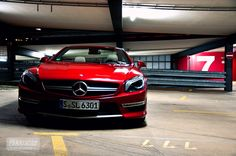 Mercedes-Benz SL 63 AMG. Photo kindly provided by marioroman pictures.