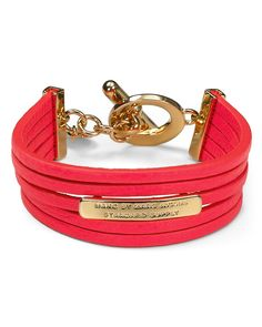 MARC BY MARC JACOBS Multi Leather Toggle Bracelet | Bloomingdale's