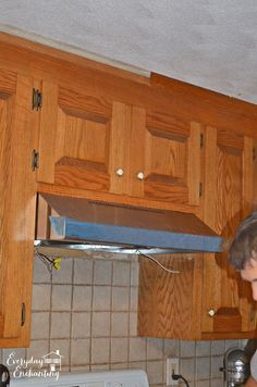 If you've got a small kitchen, this is exactly what you need to do! These Hometalkers turned their range hood into a storage solution! You've gotta see this!