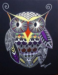 Steph Olshanski - owl