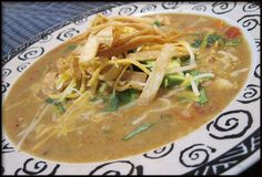 Easy Chicken Tortilla Soup Recipe - This is really an easy chicken tortilla soup recipe. I love Mexican food and this is one of my favorite Mexican recipes. It reminds me of the soup they serve at Houston's restaurant.