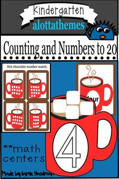 This HANDS ON low prep activity teaches the numbers 1 thru 20 in a fun and engaging way. Using manipulatives that you have on hand will make these printables perfect for math centers, morning work, or group work. Subtraction Kindergarten, Kindergarten Learning, Alphabet Activities, Motor Activities, Learning Numbers, Group Work, Morning Work, Learning Through Play, Math Skills