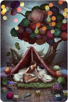 Buenas noches, amigos. Dulces y mágicos sueños. Un abrazo.