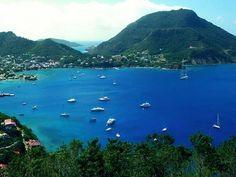 Guadeloupe sailing.