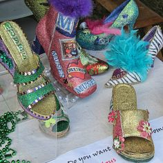 Krewe of Muses shoes