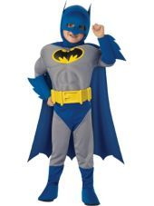 Amp the bold batman muscle costume for toddler boys party city more