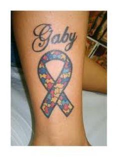 Pretty autism tattoo