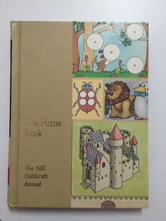 We love World Book's Childcraft Annuals. This is the 1982 edition: Puzzles.