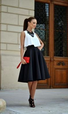 Look Cropped + Saia Midi