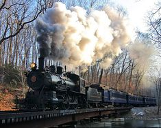 Wilmington Vintage Steam train...a GREAT way to travel.