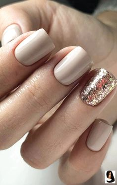 Fall Nail Art Designs, Simple Nail Designs, Glitter Nails, Gel Nails, Nail Polish, Nail Nail, Stiletto Nails, Gold Glitter, Autumn Nails
