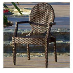Townsgate PE Wicker Outdoor Chair | Choxi.com