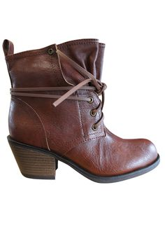 Rocket Dog Raid Booties In Bourbon - Beyond the Rack