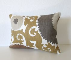 Decorative pillow cover   Suzani pillow  12x16 by chicdecorpillows, $20.00