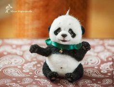 Игрушки животные, ручной работы. Ярмарка Мастеров - ручная работа. Купить Толстячок Панда:). Handmade. Белый, толстый, трогательный, любимый