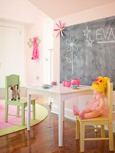 Colorful Girl's Rooms