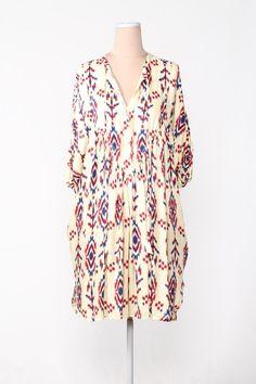 Selma Shirt Dress by Lee Mathews (looks so comfy)