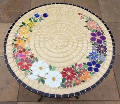 mosaic flooring Best 12 Designs for Mosaics Templates 1201 Best Geometric Design Round Oval Mosaics Images On SkillOfKing. Mosaic Tray, Mosaic Tile Art, Mosaic Pots, Mosaic Crafts, Mosaic Projects, Mosaic Table Tops, Mosaic Designs, Mosaic Patterns, Mesa Floral