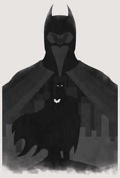 Justice League of America:Batman - Michael Tomes I Am Batman, Batman Art, Superman, Comic Books Art, Comic Art, Bruno Diaz, Comic Poster, Batman Poster, Batman The Dark Knight