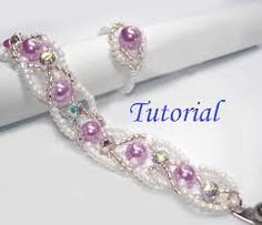 LESSON: How to Bead a Necklace... Click this open for the lesson, I thought I knew all there was to know about stringing a necklace, any body can string a necklace !