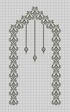 Cross Stitching, Cross Stitch Embroidery, Embroidery Patterns, Cross Stitch Patterns, Filet Crochet, Crochet Motif, Crochet Shawl, Crochet Stitches, Butterfly Stitches