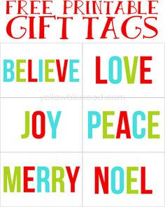 192 best Holidays - Christmas Tags images on Pinterest | Xmas ...