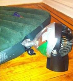 DIY Air Pump | 31 Redneck DIYs That Are BorderlineGenius