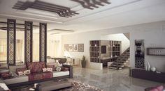 Moroccan Style Interior Design.  moroccan-floral