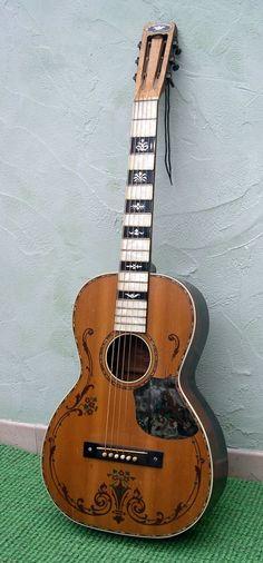 1930s Regal parlor guitar