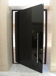 New Entrance Door Apartment Modern Hallways Ideas Modern Entrance Door, Modern Front Door, Modern Hallway, Entrance Decor, House Entrance, Entrance Ideas, Main Door Design, Front Door Design, Apartment Entrance