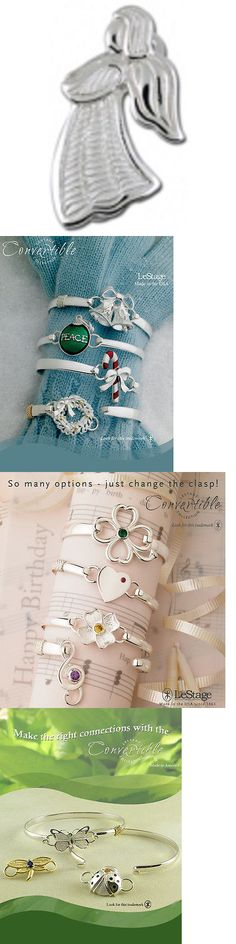 Other Jewelry and Watches 98863: Convertible Bracelet Clasp - Angel (Sb5797) -> BUY IT NOW ONLY: $69 on eBay!